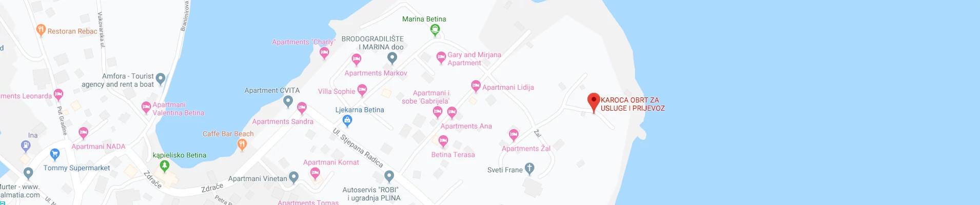 Lokacija na karti